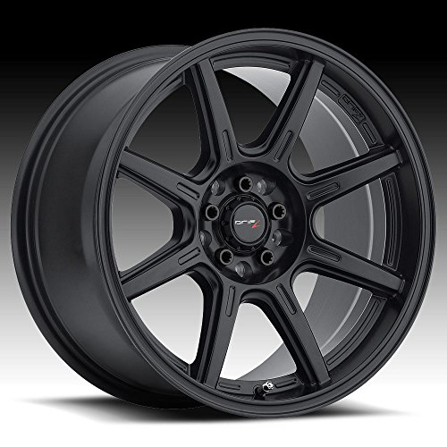 Drifz 308B SPEC-R Black Wheel (17x8