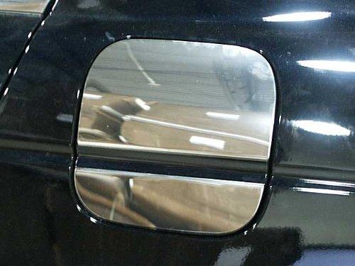 QAA FITS ACCORD 2008-2012 HONDA (2 Pc: Stainless Steel Fuel/Gas Door Cover Accent Trim, 4-door) GC28281 (Aftermarket Honda Accessories)