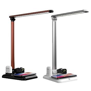 Amazon.com: GUOxufei - Lámpara de mesa plegable con carga ...