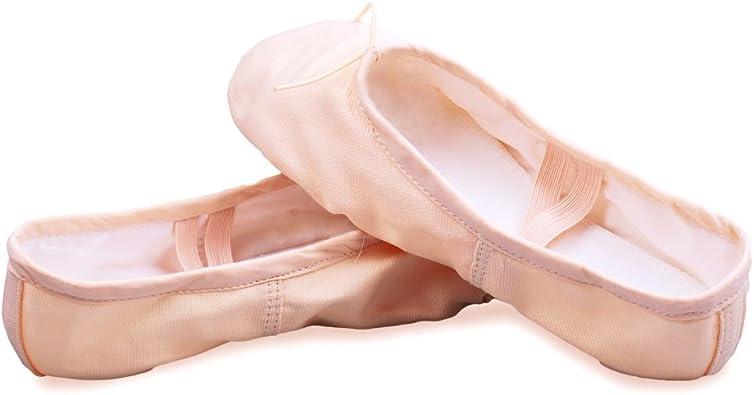 WELOVE Women's Canvas Ballet Shoes