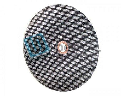 #31KD HANDLER - Wheel Diamond Coated 10in - for model trimmer - Diamo 103342 Us Dental Depot