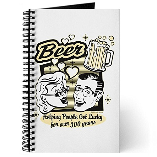 journal-diary-with-beer-helping-people-get-lucky-on-cover