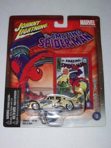 (Johnny Lightning Marvel Comics The Amazing Spider-Man 1648 Tucker Torpedo)