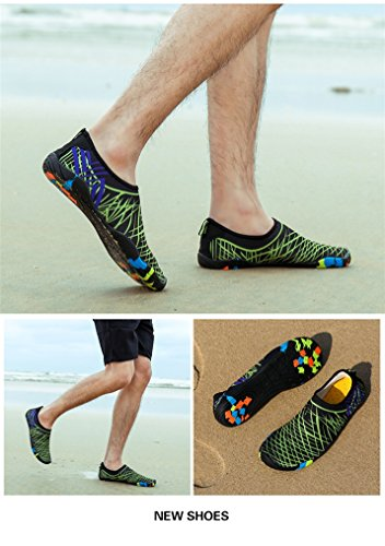 Quick Dry Lightweight Aqua Surf Shoes Pool Sand Swim Type4 Mens Sports Water Durable FONDBERYL Water Beach Barefoot Shoes Yoga Womens Exercise Unisex for Sole zwqPHYXH