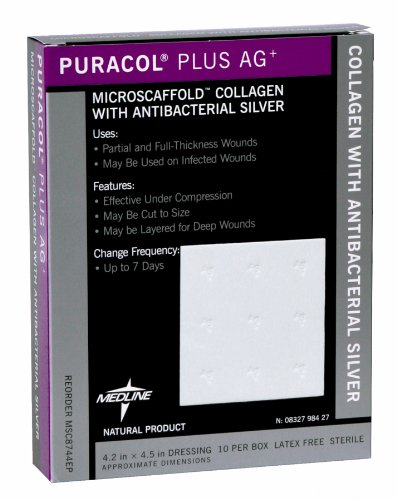 Puracol Antimicrobial Silver Wound Dressing