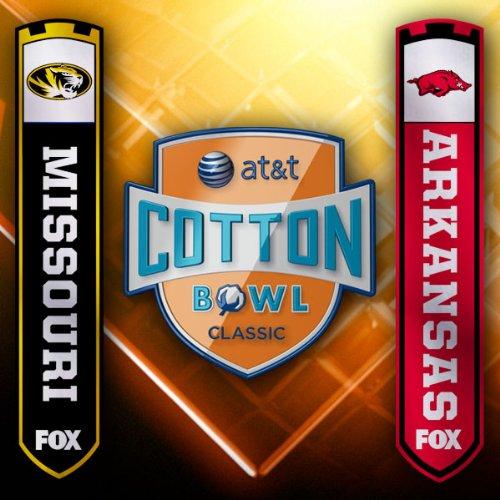 AT&T Cotton Bowl Classic Game 2008: Missouri vs. Arkansas