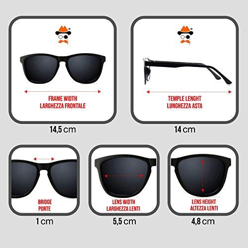 Gafas HOP De de la mod hombre mujer HIP rapero RUN ESCUELA sol de Clásica de el DMC la VIEJA vendimia KISS® 2 Crystal ZxFrUZq