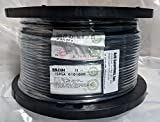Belden Wire & Cable Co. - 1000FT - 1505A 0101000 - Black RG-59/U Coaxial Cable