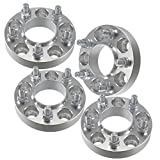 2014 ford mustang v6 accessories - 4x 32mm 5x4.5 Wheel Spacers 14x1.5 Studs | fits 2015 2016 Ford Mustang Hub Centric GT | 70.5mm Hub Bore