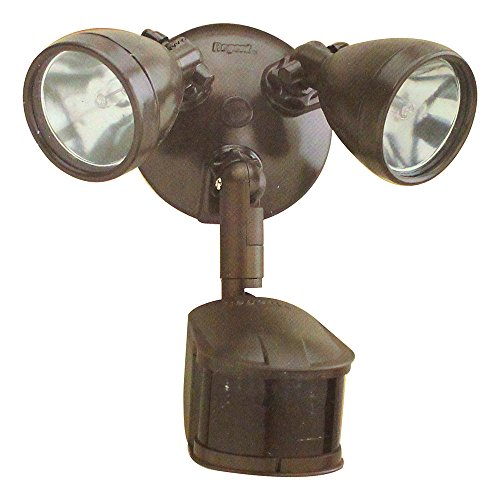 All-Pro MS248 270-Degree Motion-Activated Security Floodlight 200-Watt Quartz Halogen, Bronze - Quartz Floodlight