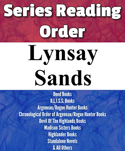 LIST SERIES: LYNSAY SANDS: SERIES READING ORDER: ARGENEAU/ROGUE