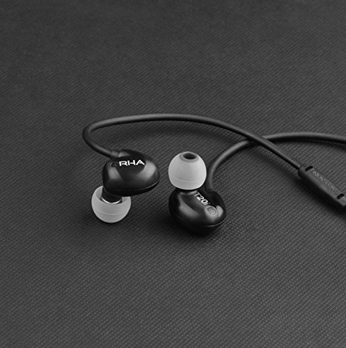 RHA T20i Black (Discontinued by Manufacturer)