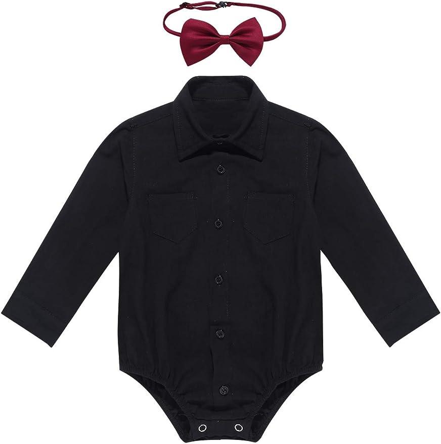 DaMohony Newborn Baby Girl Romper Infant Short Sleeve Jumpsuit Bodysuit for 0-18Months