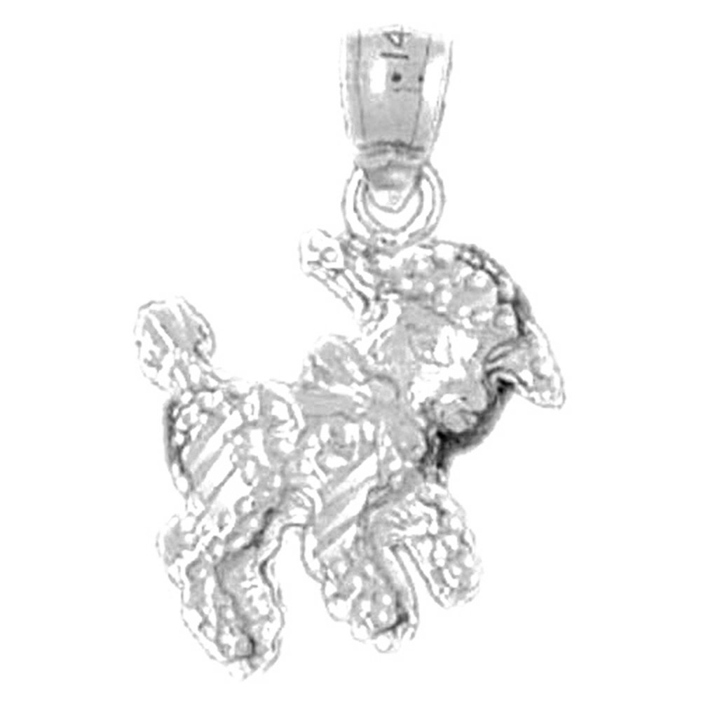 Jewels Obsession Silver Slot Machine Necklace Rhodium-plated 925 Silver Slot Machine Pendant with 18 Necklace