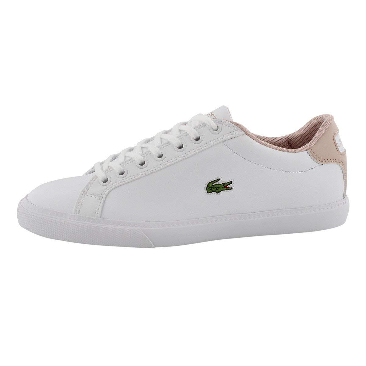 Wht lt pnk Lacoste Women's Grad Vulc 119 2 P Fashion Sneaker