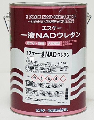エスケー化研 一液 NAD ウレタン 5分艶 標準色 4kg SR-411【メーカー直送便/代引不可】ウレタン 塗料 外壁 エスケー NAD B078N5NMD1 SR-411 5分艶