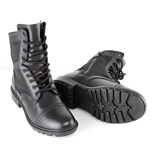 BURGAN 831.8i Flex Trainer Duty Boot With Side Zipper Black ZFxfWUwt