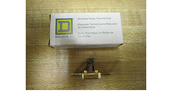 SQUARE D A6.20 THERMAL UNIT OVERLOAD RELAY