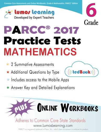 Common Core Assessments and Online Workbooks: Grade 6 Mathematics ...