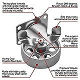 Online Best Service 4 All Steel Swivel Plate Caster