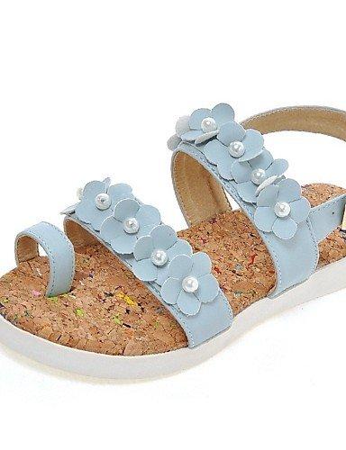 LFNLYX Zapatos de mujer-Plataforma-Cuñas / Plataforma / Gladiador-Sandalias-Oficina y Trabajo / Vestido / Casual-Semicuero-Negro / Azul / Rosa / Pink