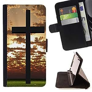 - Let's Rock Around The World - - Prima caja de la PU billetera de cuero con ranuras para tarjetas, efectivo desmontable correa para l Funny HouseFOR HTC Desire 820