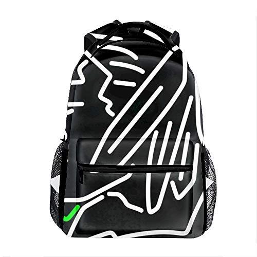 Laptop Backpacks North Dakota Fighting Sioux Men Women Travel Daypack Bag