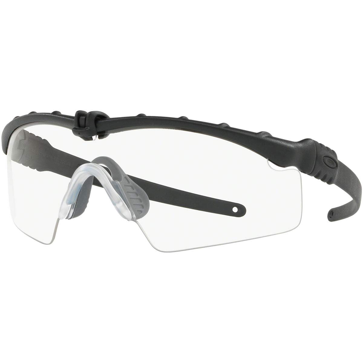 Oakley Men's Standard Issue M Frame 3.0 Sunglasses,OS,Matte Black/Clear