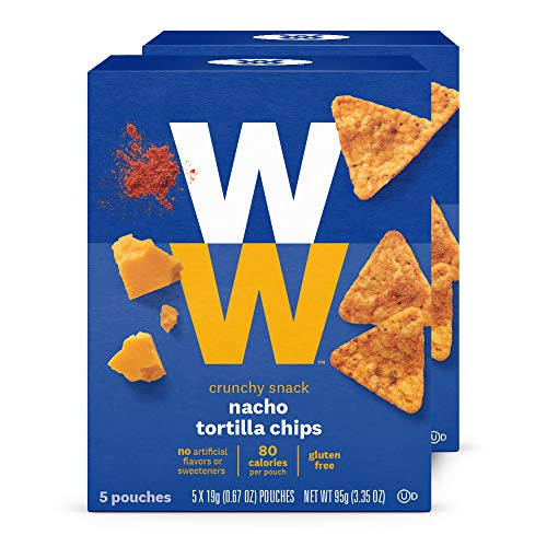 WW Nacho Tortilla Chips - 2 SmartPoints - 2 Boxes (10 Count Total) - Weight...