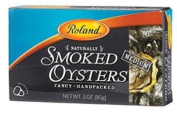Roland Medium Smoked Oysters