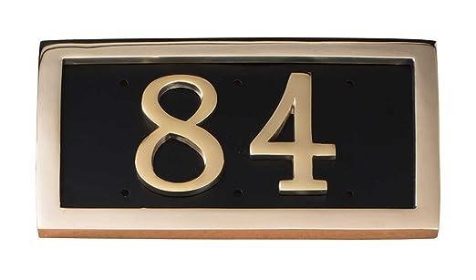 Comfort House Placa de Dirección para casa Personalizada con ...
