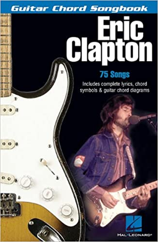 Amazon.com: Eric Clapton: Guitar Chord Songbook (0073999995671 ...