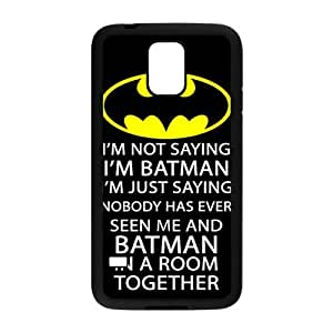 SKULL Batman logo i'm batman Phone Case for Samsung Galaxy S5