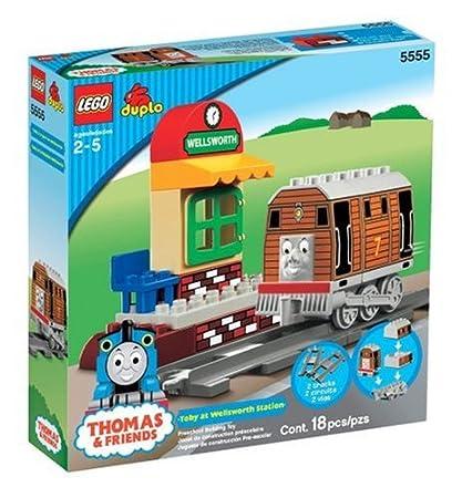 Amazon Lego Duplo Thomas Friends Toby At Wellsworth Station