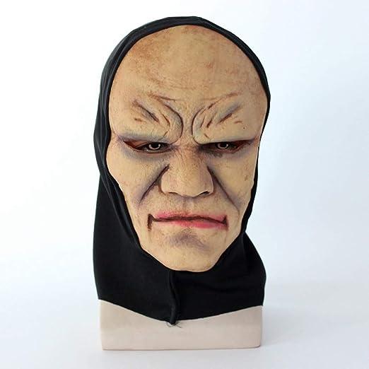 Máscara De Terror De Lujo Un Fantasma Persiguiendo Máscara Demonio ...