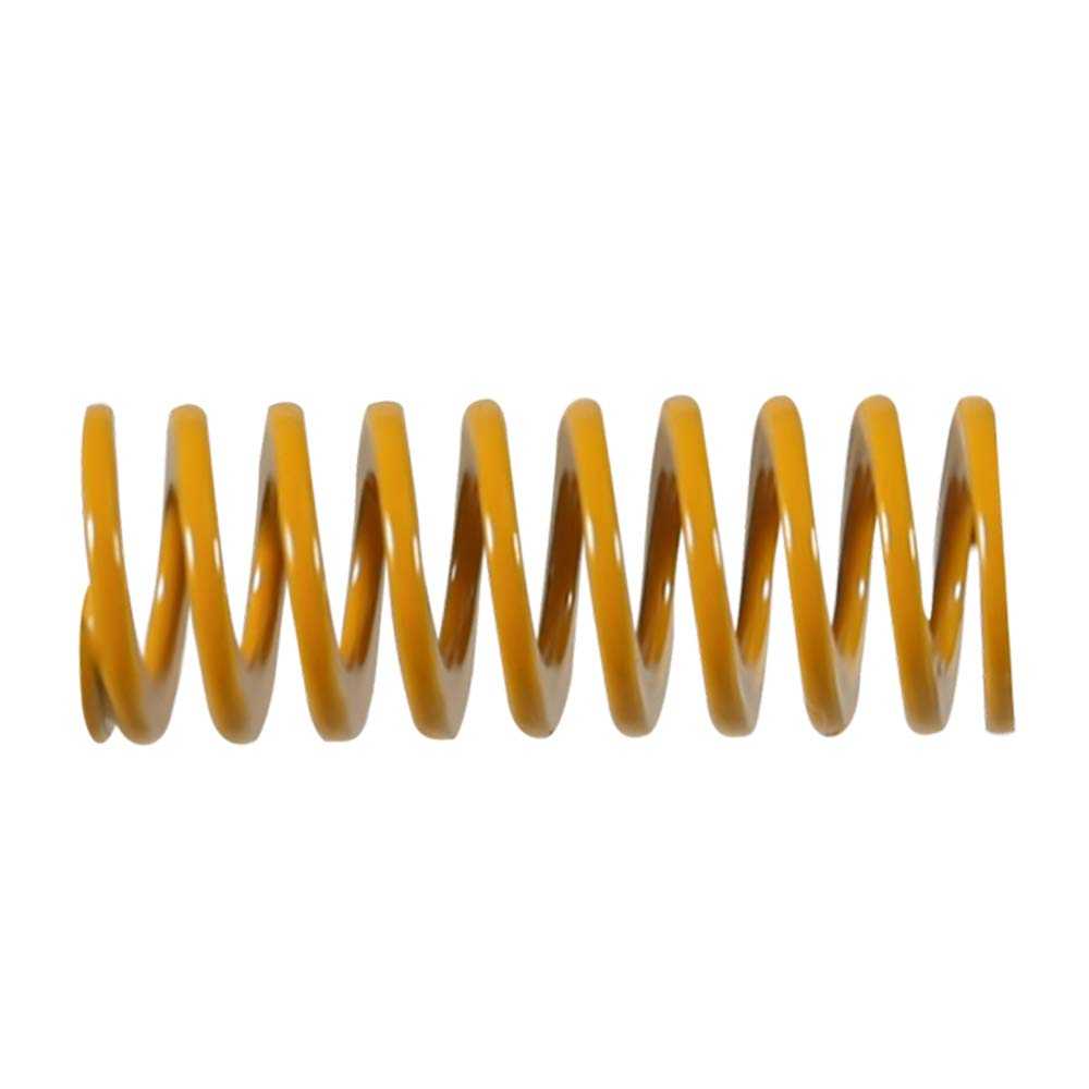 Aokin 3D Printer Heated Bed Springs 0.31in OD 0.78 in Length Die Springs Light Load Compression Springs for 3D Printer Creality CR-10 10S S4 Ender 3 Heatbed Springs Bottom Connect Leveling 10 Pcs