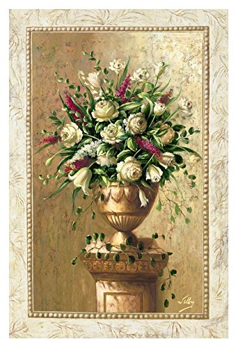 """Global Gallery """"Welby Spring Blossoms I"""" Unframed Giclee on Paper Print, 36"""" x 24"""""""