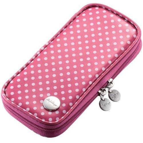 ELECOM PSP case [correspondence] PSP-3000/2000/1000 plastic coating dot pink GM-PSPC1PN