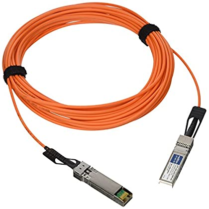 Image of Add-On Computer Cisco Compatible 10GBase-AOC SFP+ to SFP+ Direct Attach Cable (SFP-10G-AOC10M-AO) Fiber Optic Cables
