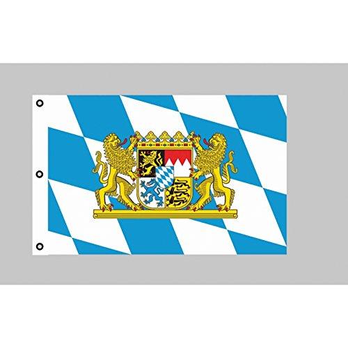 Riesen-Flagge: Bayern mit Löwen 150cm x 250cm