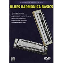 Ultimate Beginner Blues Harmonica Basics, Vol 1 & 2 (DVD)