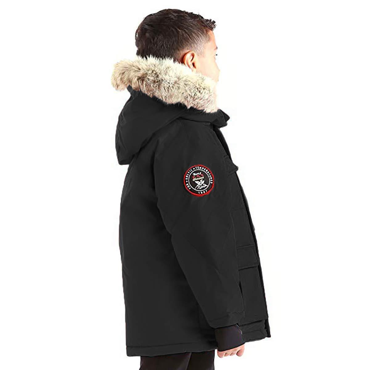 Triple F.A.T. Goose Kids Chenega Premium Down Jacket (7, Black) by Triple F.A.T. Goose (Image #2)