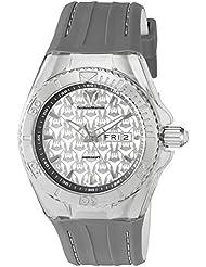 Technomarine Mens Cruise Monogram Swiss Quartz Stainless Steel Casual Watch (Model: TM-115153)