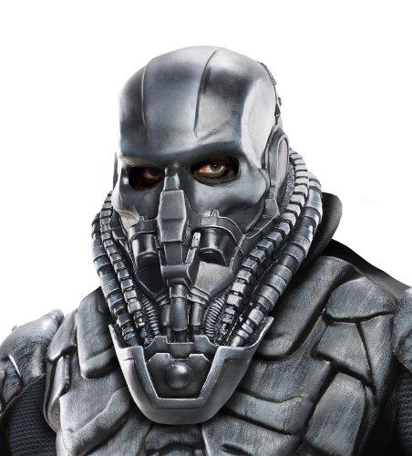 Man Of Steel Zod Costume (Rubie's Costume Superman Man Of Steel Adult General Zod Mask, Multi-Colored, One)
