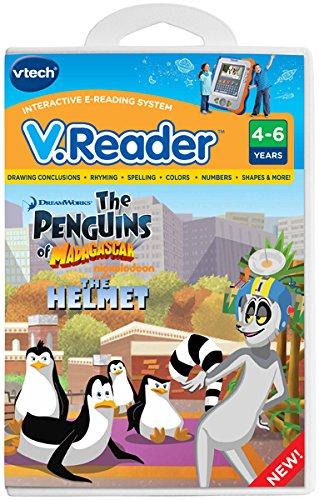 VTech - V.Reader Software - Penguins Of - Cartridge Penguin