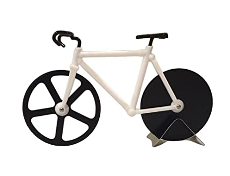 Amazon.com: Esamconn Bicycle Pizza Cutter Dual Stainless Steel Bike ...