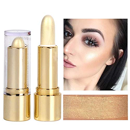 Shimmer Shining Face Highlighters Cream Makeup Foundation Waterproof Bronzer Countour Highlighter Stick Pencil