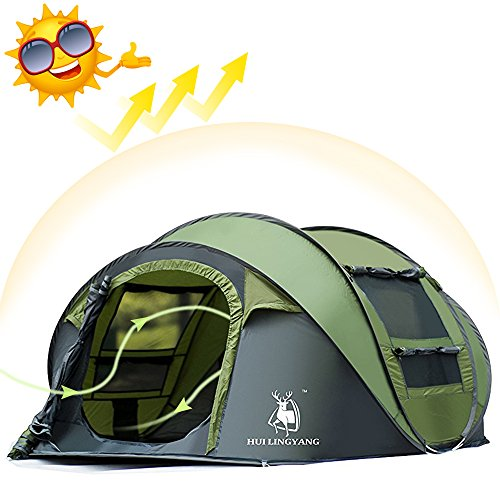 Ayamaya Tents 3 4 Person People Man Instant Pop Up Easy