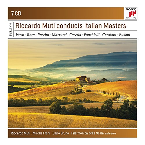 Riccardo Muti Conducts Italian Masters from Sony Masterworks