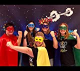 Superhero Capes and Masks for Teenagers and Adult